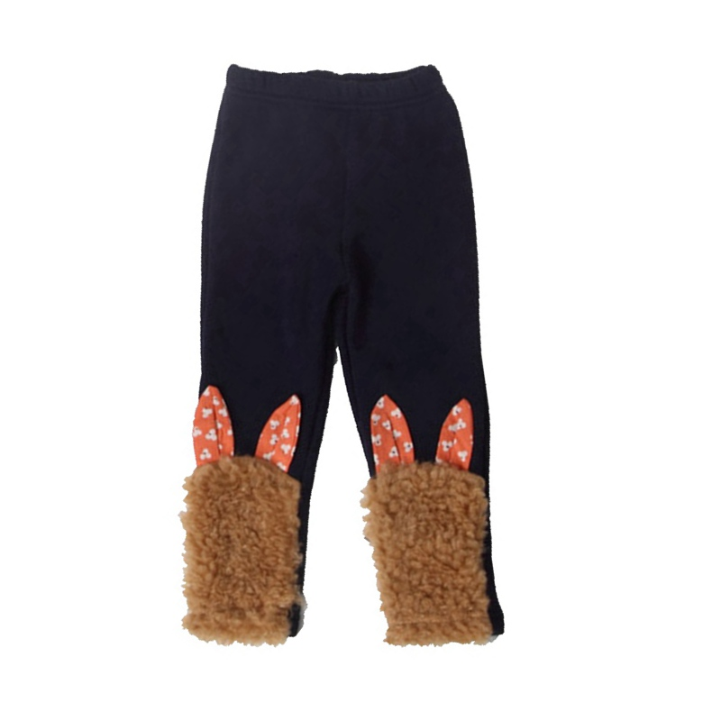 11240ca204249 4 couleurs Chaud Polaire Bébé D hiver Leggings Filles Pantalon Imprimé  Floral Enfants Pantalon Bébé Fille Vêtements Enfants Vêtements