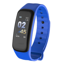Hot sale C1plus 0.96 inch color screen heart rate blood pressure sleep monitoring Bluetooth sports smart watch bracelet