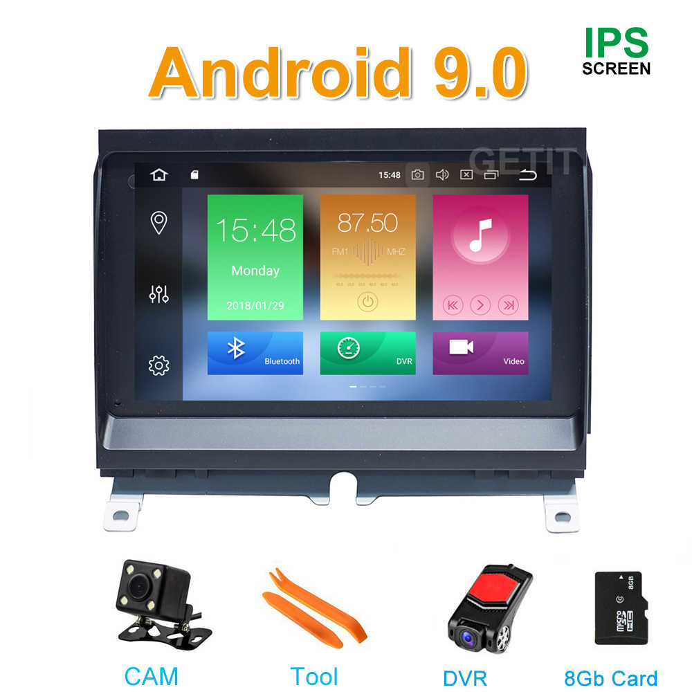 IPS 64G ROM Android 9 DVD Multimedia Radio GPS para Land Rover Discovery 3 LR3 L319 2004 ~ 2009