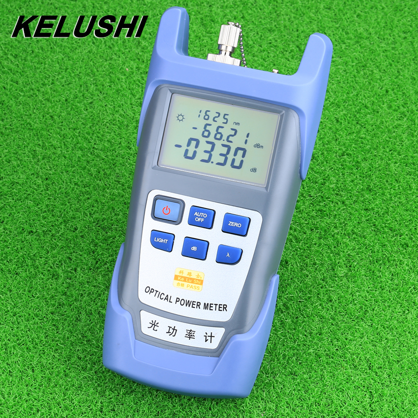 KELUSHI FTTH Fiber Optical Power Meter DXP-40D Fiber Optical Cable Tester -70dBm~+10dBm SC/FC Connector Free Shipping