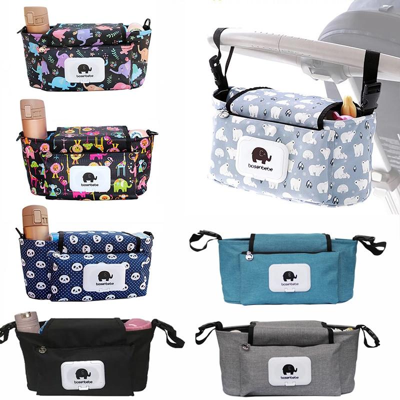 Multifunctional Mummy Diaper Nappy Bag Baby Stroller Bag Travel Backpack Designer Nursing Bag for Baby Care Innrech Market.com