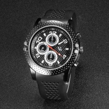 Original Luxury Male Brand V6 Watch Analog Display Black Clock Waterproof Military Man Hours Breathable Anti-skid Designer Top
