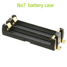 10pcs Battery Case for 2x Rechargeable Batterias Plastic AAA Batteries Holder Container 1.5V Battery Holder Wholesale