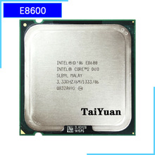 Procesador Intel Core 2 Duo E8600 3,3 GHz Dual-Core CPU 6M 65W 1333 LGA 775