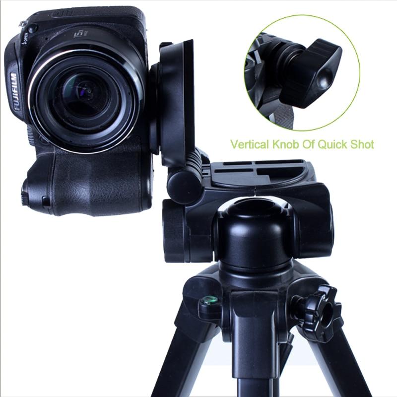 YUNTENG VCT-681RM trekëmbësh profesional udhëtimi me celular me - Kamera dhe foto - Foto 4