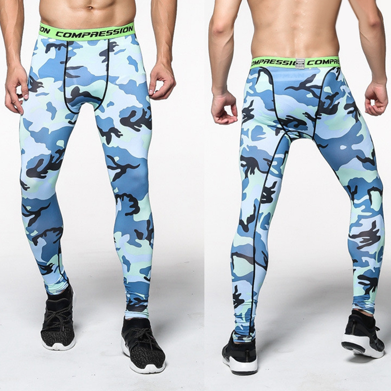 529ab6589cf45 Mens Compression Pants Crossfit Tights Men Bodybuilding Pants Trousers  Camouflage Joggers running fitting Cycling Yoga 2017 New-in Running Pants  from Sports ...