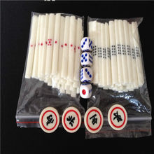 Foreign Trade New Japanese Mahjong Mahjong Imitation Bone Chips Bar for A Set of 88 Wind Zhuang Dice(China)