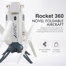 JJR/C H51 RC вертолет Rocket-like 360 wifi FPV селфи Elfie Rocket Тип Дрон с камерой HD 720 P высота удержания RC Квадрокоптер