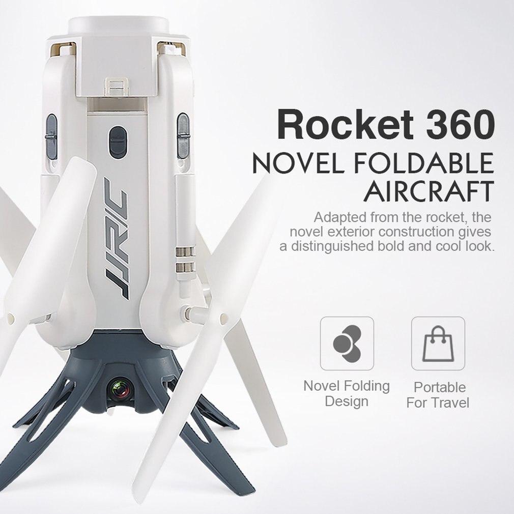 JJR/C H51 RC Hubschrauber Rakete-wie 360 WIFI FPV Selfie Elfie Rakete Typ Drohne mit Kamera HD 720 P Höhe Halten RC Quadcopter