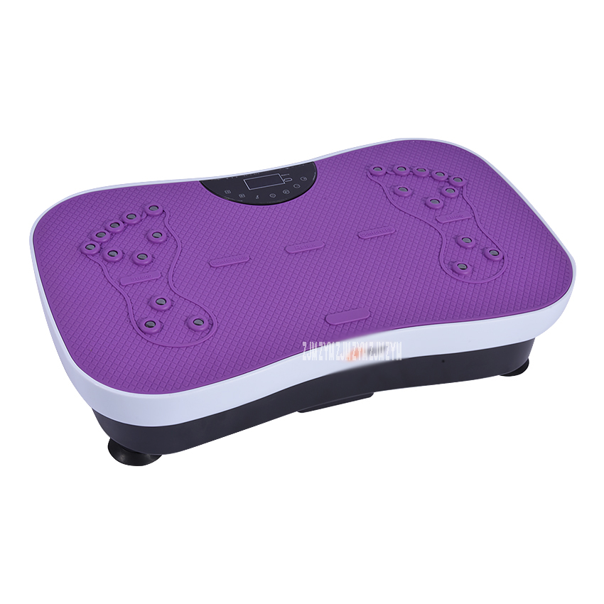 JD-SZJ001 Fat Burning Vibration Fitness Massager Vibrating Plate Body Shaper Weight Loss Power Fit CrazySlimming Device220V/50hz vibration of orthotropic rectangular plate