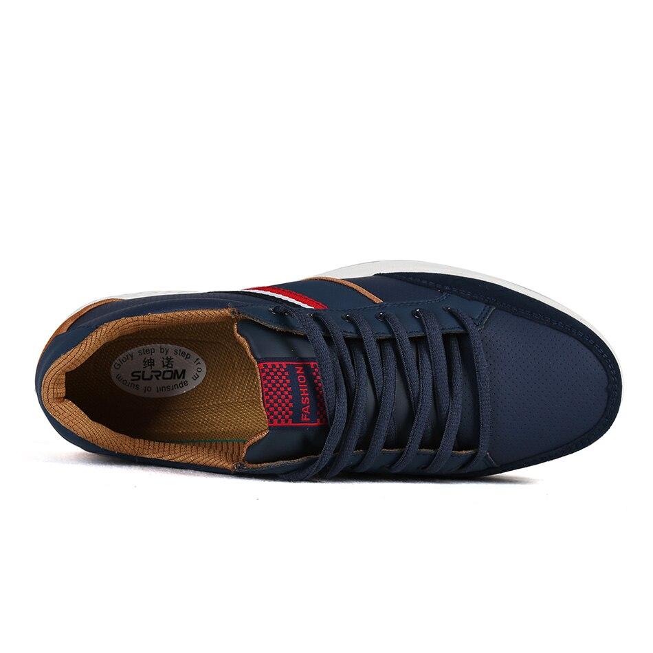 SUROM Erkekler Rahat Ayakkabılar 2017 İlkbahar Sonbahar Lace up - Erkek Ayakkabıları - Fotoğraf 3