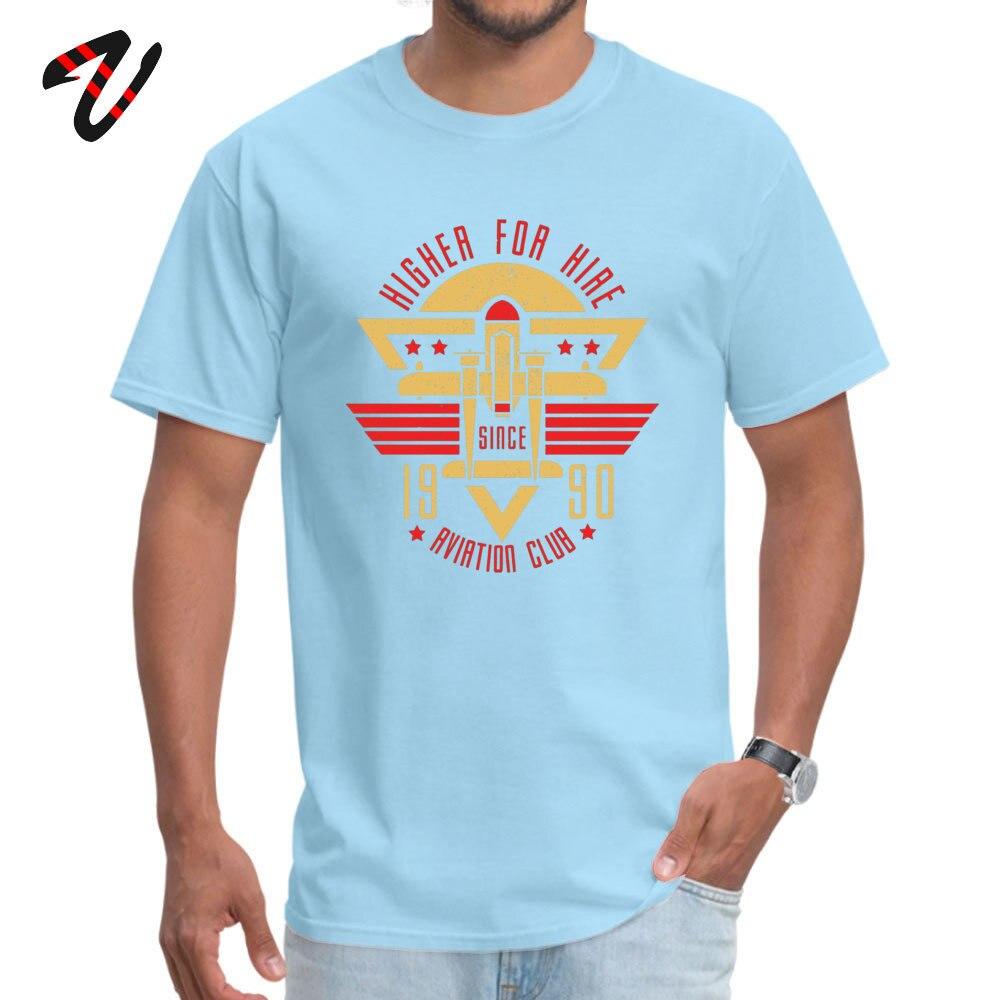 Aviation Club Summer Autumn 100% Cotton Crew Neck Tops Shirts Short Sleeve Camisa T-Shirt Coupons Family Top T-shirts Aviation Club 7088 light
