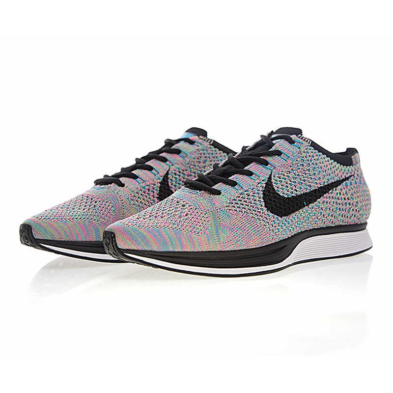 sports shoes wholesale dealer clearance prices grey pink nike flyknit racer men