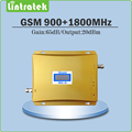 Gain 65dB gsm repeater 900 1800 mobile signal Boosters  GSM DCS dual band repeater 900mhz 1800mhz cellular signal booster