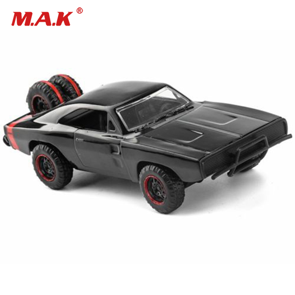 Collectible Fans Gifts Jada 1/32 Scale Alloy Diecat Black 1970 Dodge Charger Off Road Diecast Car Model Collection For Children