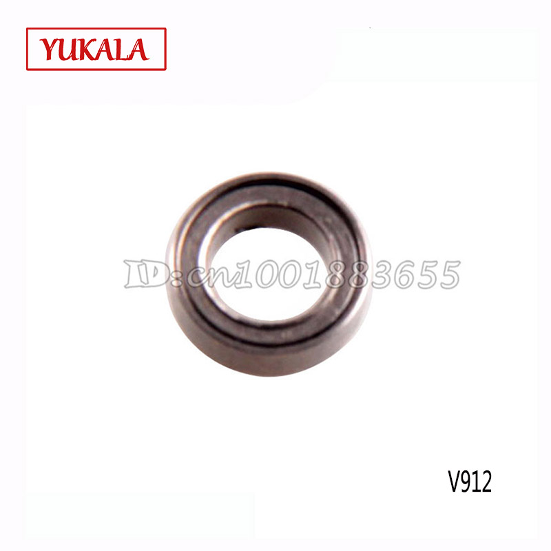 Free shipping Wholesale WL V912 spare parts Bearing(8*5*2.5) 10 pcs V912-15 for WL V912 2.4G 4CH RC Helicopter