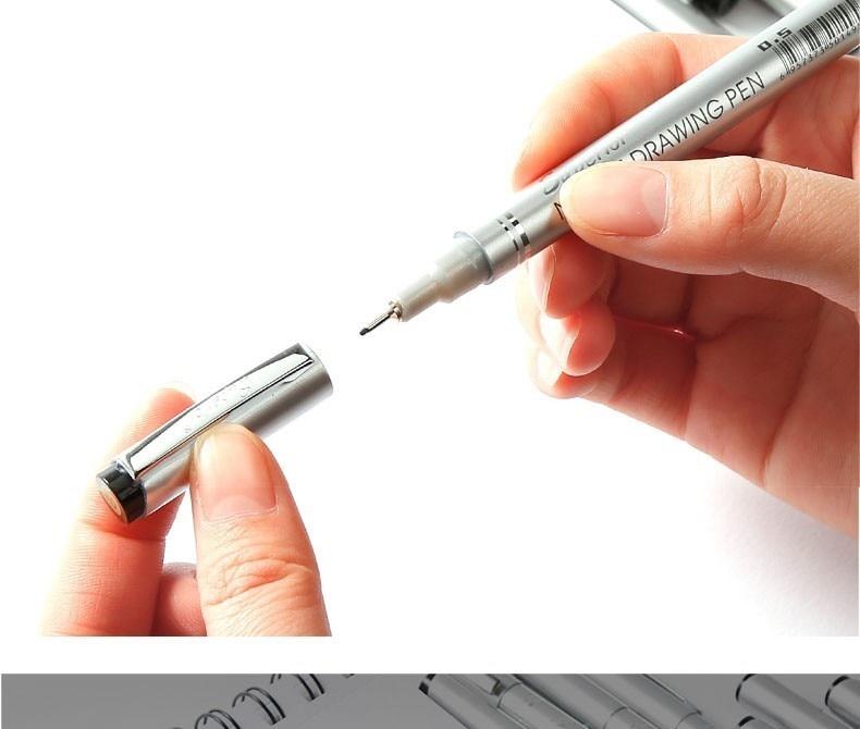 agulha caneta desenho dos desenhos animados esboço