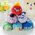 Free Shipping Inside plush toys 6pcs/lot ts mobile screen wiper out key chain bag hanger joy anger fear disgust kids gifts