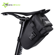 Rockbros Bicycle Waterproof Bag Road Mountain Bike Rear Seat Basket Nylon Saddle Bag Cycling Tail Bag