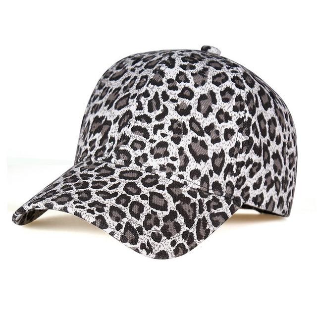 Leopardprint Baseball Cap...