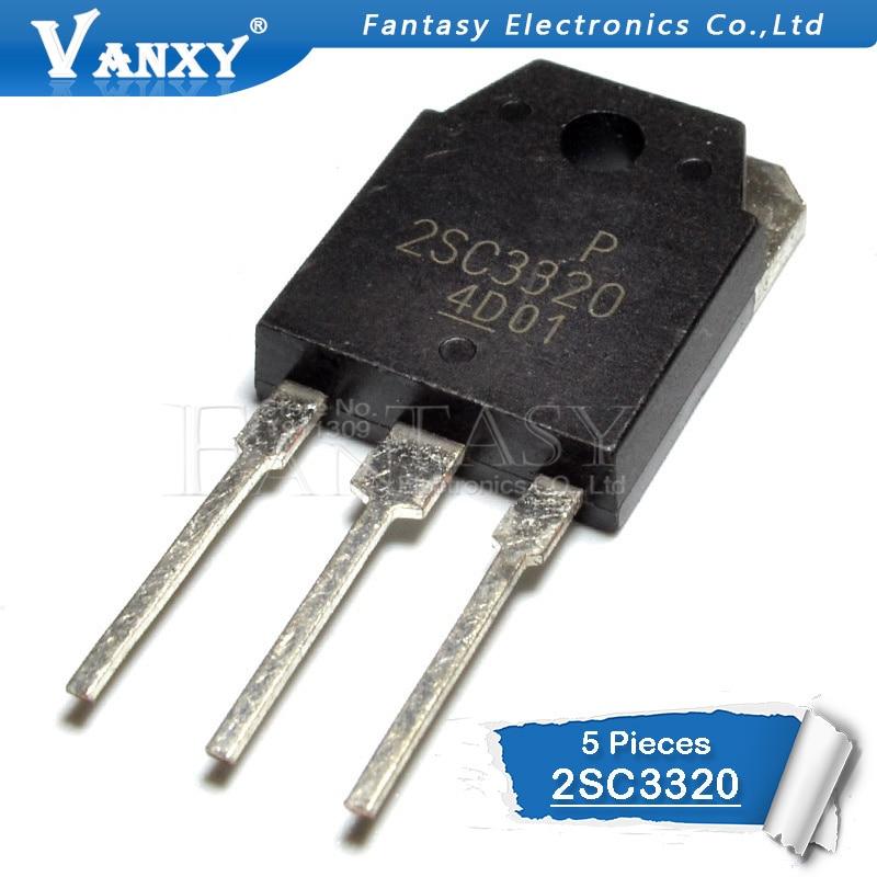 5PCS 2SC3320 TO-3P C3320 TO-247 Transistor