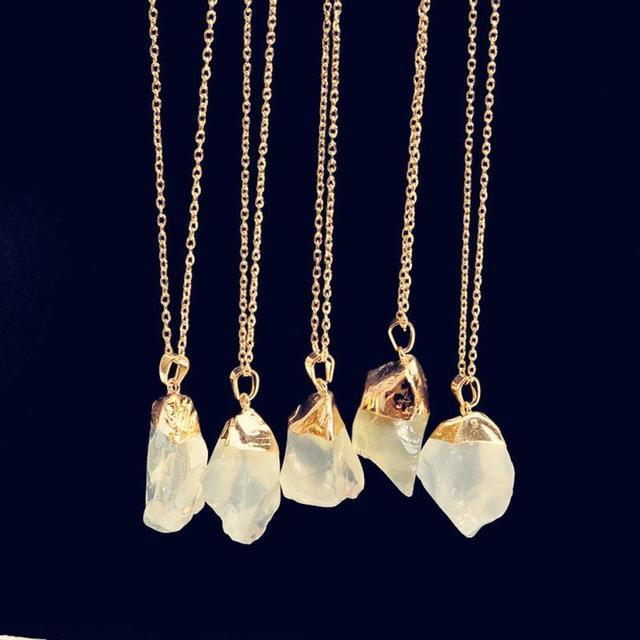 brixini.com - The Natural Healing Crystal Rock Necklace