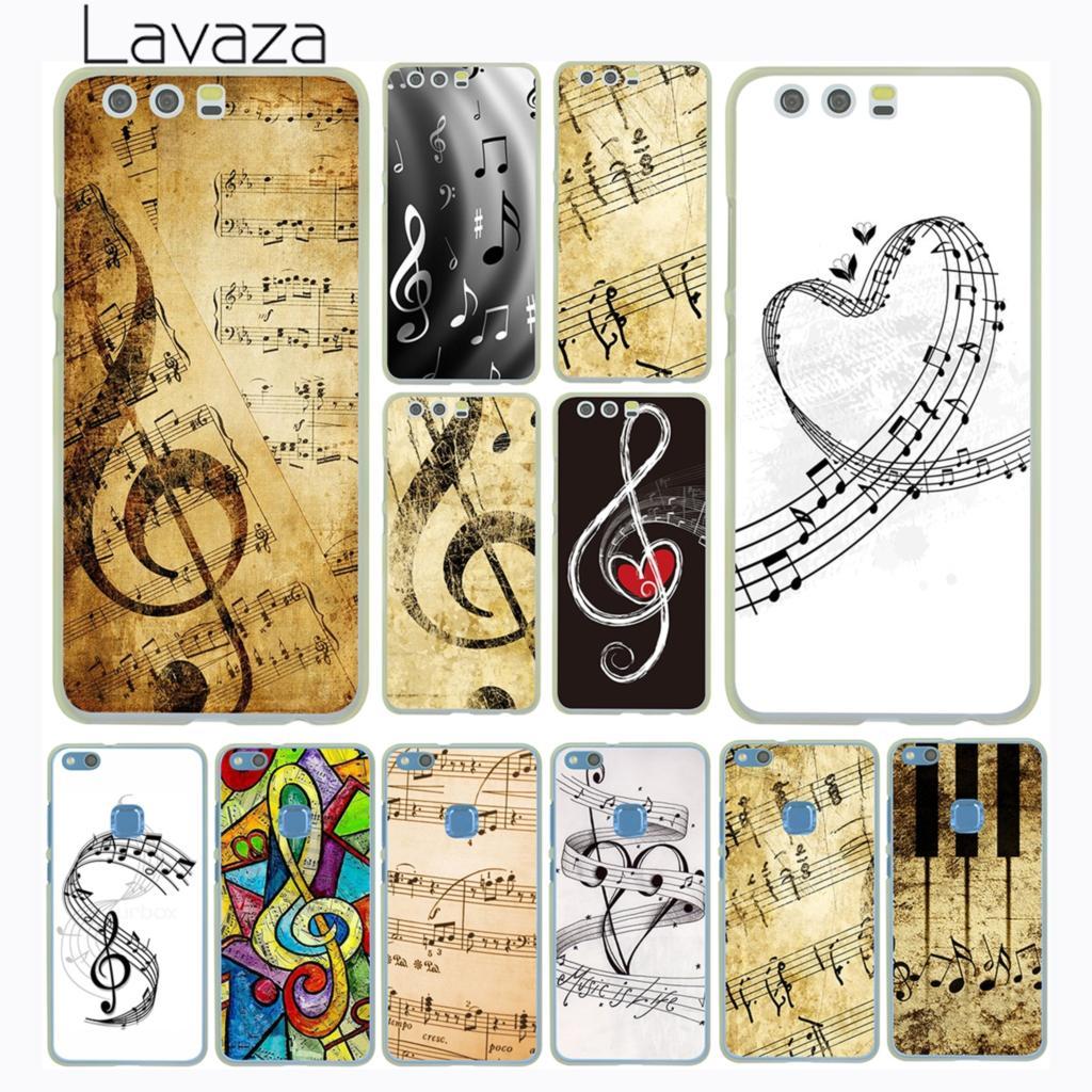 Lavaza love Old Music Score Musical Notes Loving Case for Huawei P30 P20 P10 P9 Plus P8 Lite Mini 2017 P smart Z 2019