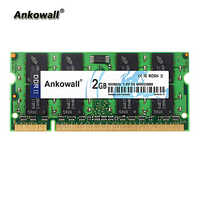 Ankowall DDR2 SO-DIMM 2GB RAM 800 MHz Notebook Memory PC2-6400 Laptop RAM