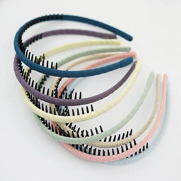 Diadema de gasa multicolor para niñas Diseño simple Aro para el - Accesorios para la ropa - foto 1