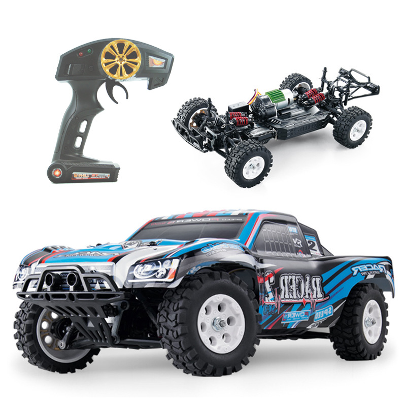 1:16 RC Car 4WD 2.4G Radio Control Toys Buggy 40KM/H High Speed Trucks Off-Road Vehicle Toys for Children high speed 4wd 1 24 40km h 2 4g 5 monster trucks with remote control off road motorcycle outdoor rc car for children toys gift