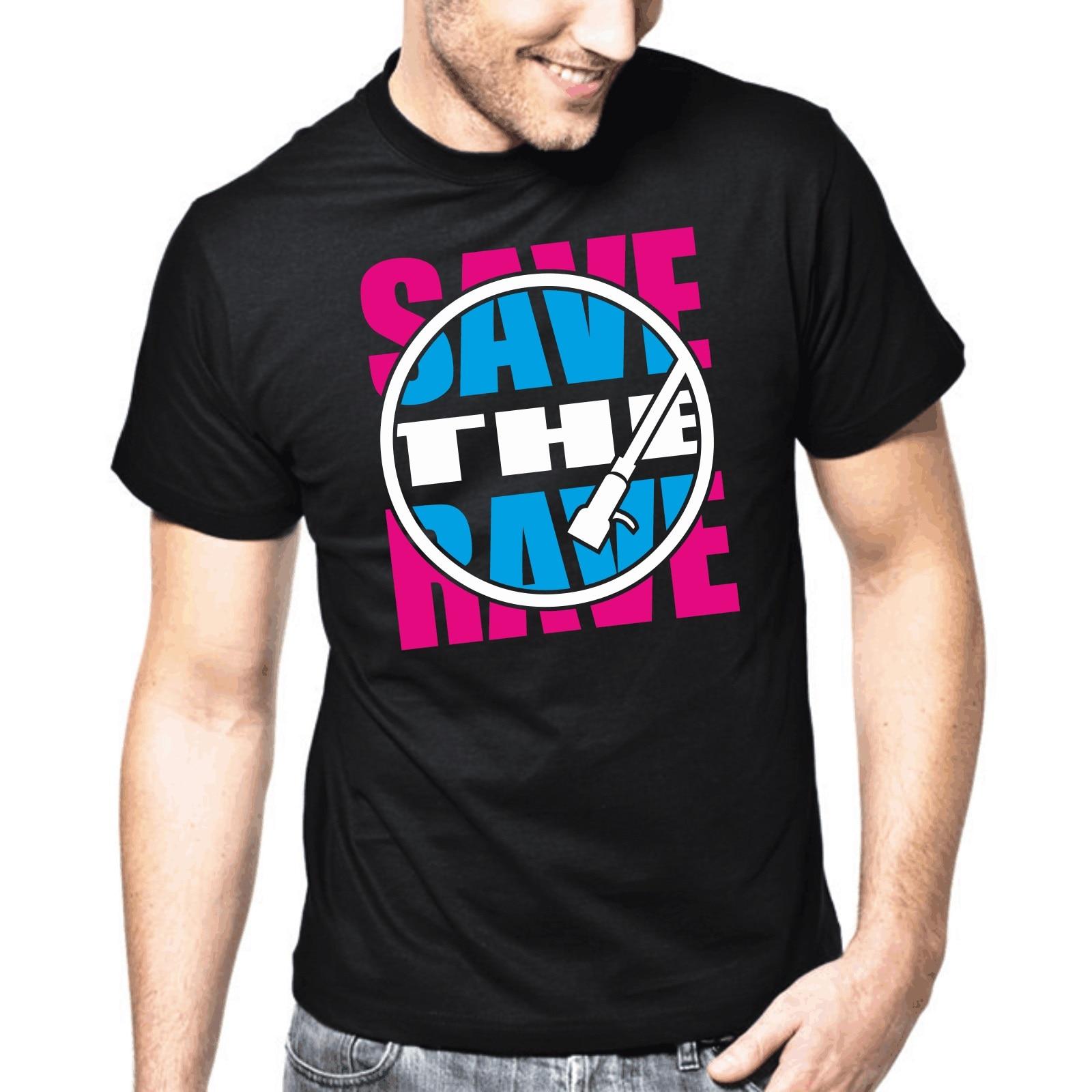 gildan Save the Rave  Techno  Electronic Music  Trance  DJ  Club men T-Shirt