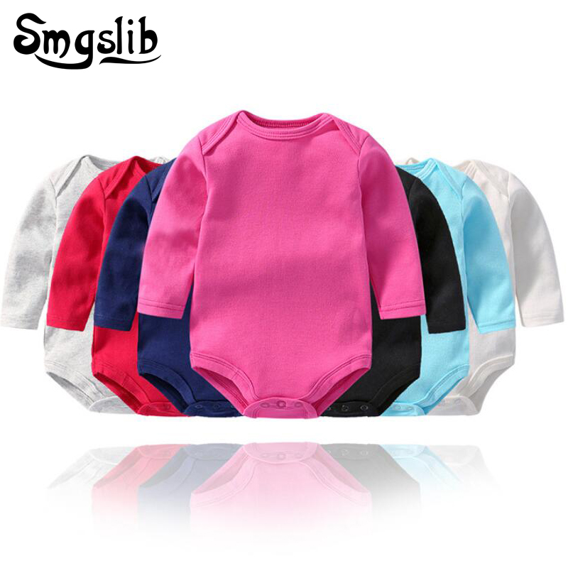 Dropshipping Baby girl   romper   toddler   romper   baby onesie Newborn Boys Long Sleeve Jumpsuit Kids Outfits Clothes infant   romper