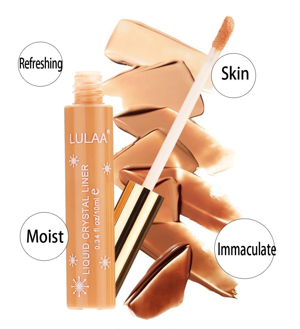 LULAA Face Concealer Professional Liquid Concealer Makeup Full Coverage  Dark Circles Acne Marks Base Primer Cream Cosmetic