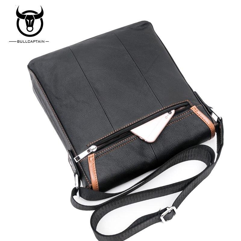 bolsa masculino bolsa de ombro Material Principal : Couro Genuíno