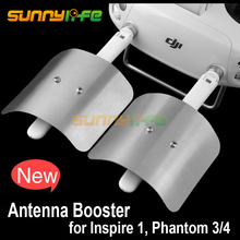 2pcs Remote Controller Enhance Board Extended Range Parabolic Antenna Range Extender for DJI Phantom 4 PRO