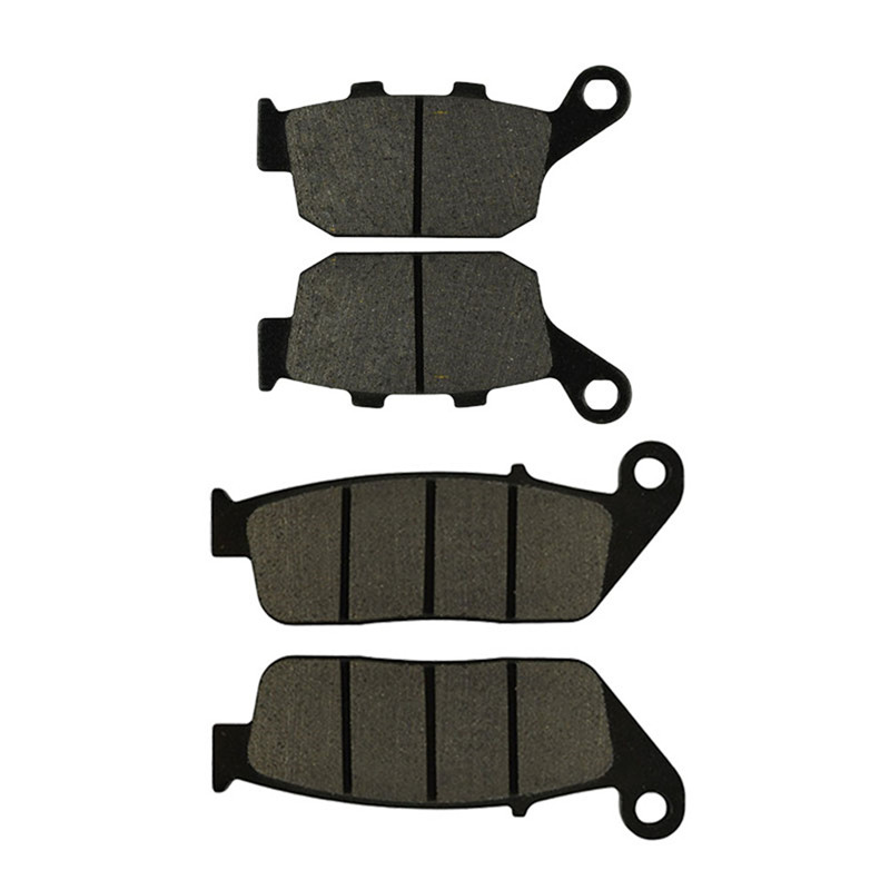 Motorcycle Front and Rear Brake Pads for HONDA VT250FL Spada / Castel 1988-1990