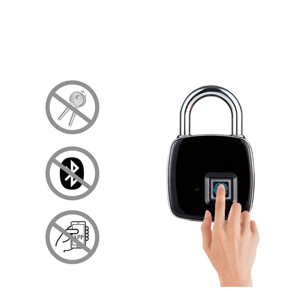 Electronic Intelligent Bluetooth Fingerprint Safe Password Padlock Home Door App Remote Management Mobile Phone Unlock