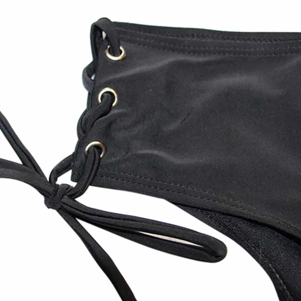 AUSTINBEM Phụ Nữ Đáy Áo Tắm Mặc Bikini đồ bơi tummy kiểm soát Đồ Bơi Cheeky Nút Băng Bơi Trunks ngắn # y10