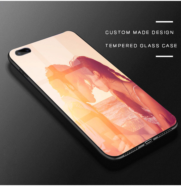 big sale 90719 0248e US $4.49 10% OFF|Custom Made Design Case for OPPO F1S A7 A9 F7 F1 F3 Plus  R11 R11s Plus R17 Pro R7s R7 Plus Case DIY Tempered Glass Case Cover-in ...