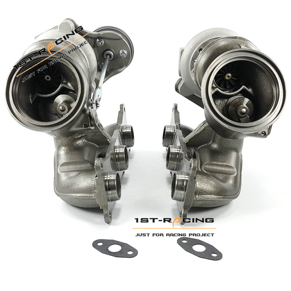 Bmw X6m Turbo Upgrade: NUEVO Doble Izquierda + Derecha Turbo 49131 Para BMW E82