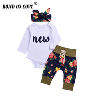 Klettern Kleidung Für Kleinkind Kleinkind Kinder Baby Boy Print Langarm Kleidung Beiläufigen Spielanzug Hose Stirnband 3 Stück Overall overall