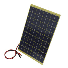 60w 12V Solar Panel Kit Home Battery Camping Carava&solar charger&solar panel