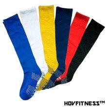 Детские профессиональные футбольные носки наивысшего качества, плотные противоскользящие футбольные гольфы для мальчиков, детские гольфы