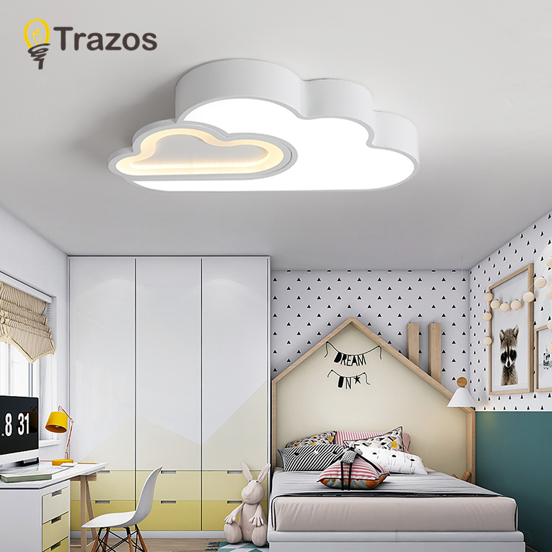 Modern Led Ceiling Lights Living Room Bedroom Hallway lampe plafond avize AC220V Black/White Ceiling Lamp Surface mount