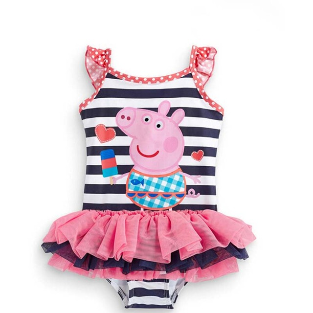 One Piece Girls Swimsuit