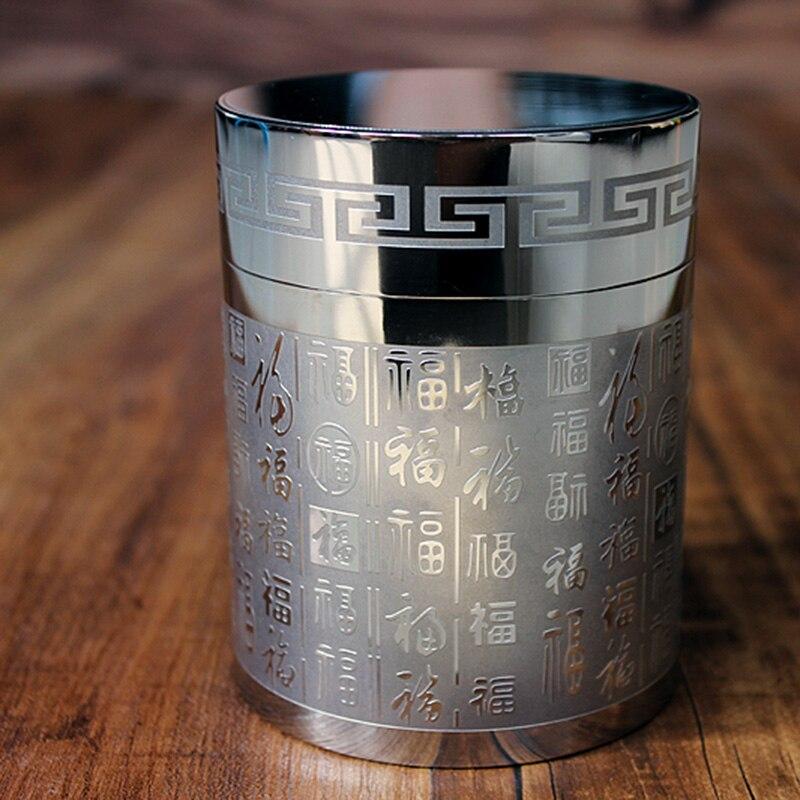 EDC pur titane scellé boîtes de thé réservoir de stockage médicinal scellé boîte de stockage grande capacité scellé équipement extérieur Camping outil