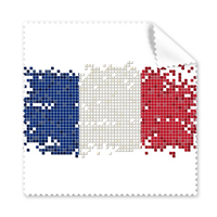 5 Pcs France Simple Grid National Flag Architecture Custom Landscape Illustration Pattern Glasses Cloth Phone Screen