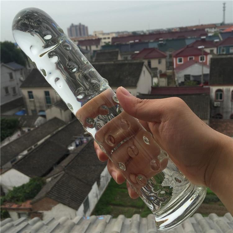 Pyrex verre cristal gode pénis Anal godemichet Anal jouet sexuel produits adultes pour femmes hommes femme mâle masturbation