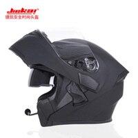 2017 Winter New JIEKAI Flip Up Motorcycle Helmet JK902 Undrape Face Motorbike Helmets Made Of ABS