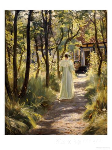 danish art Marie in the Garden Peder Severin Kroyer paintings for sale High quality Hand painteddanish art Marie in the Garden Peder Severin Kroyer paintings for sale High quality Hand painted